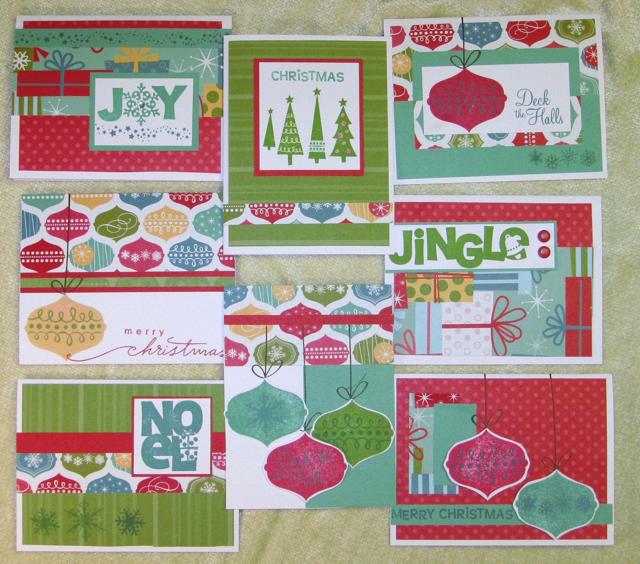 32 Christmas Holiday Card Workshop
