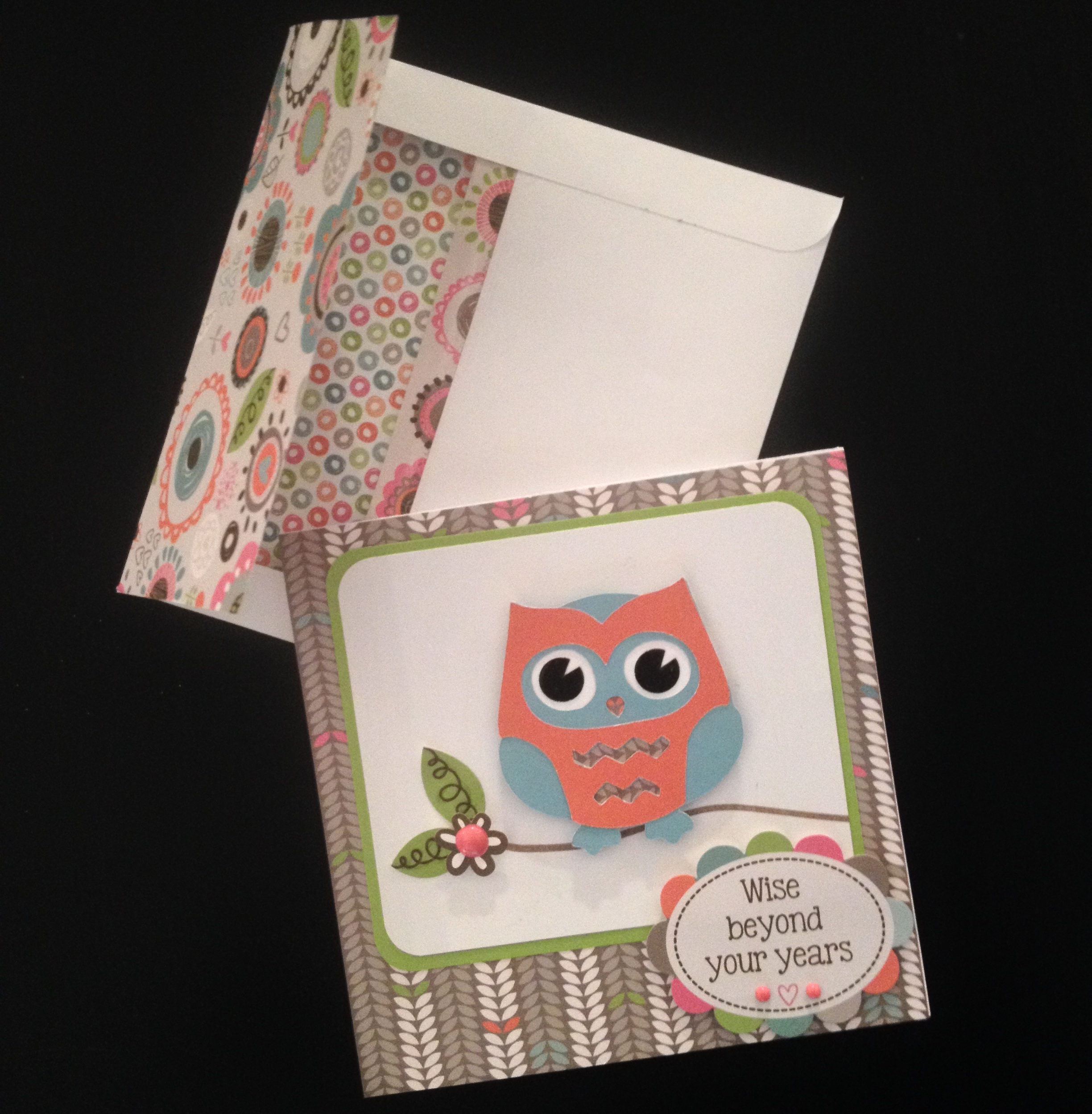 "Wise Beyond Your Years"" Owl Birthday Card"