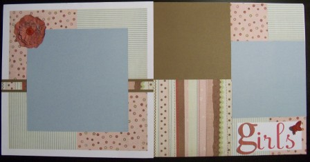 CTMH Cherry-O Girls Scrapbook Layout
