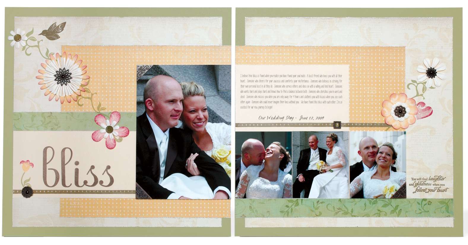 Veranda Scrapbook Layout Idea | Scrapedia